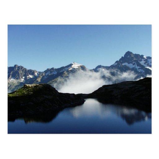 Postal escénica de la montaña