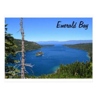 Postal esmeralda de la bahía