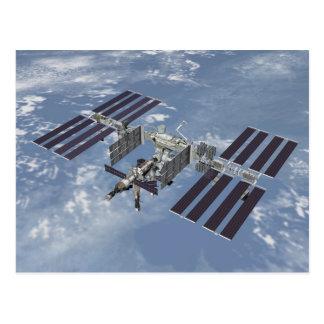Postal/estación espacial internacional