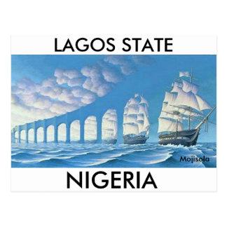 Postal - ESTADO de LAGOS - modificada para