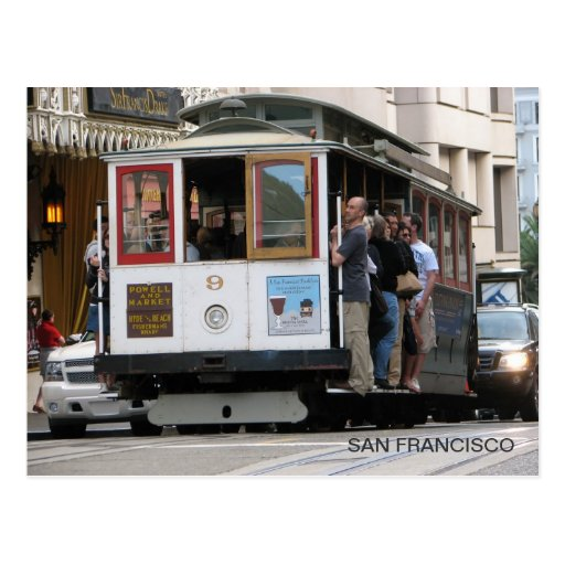¡Postal estupenda de San Francisco! Tarjeta Postal