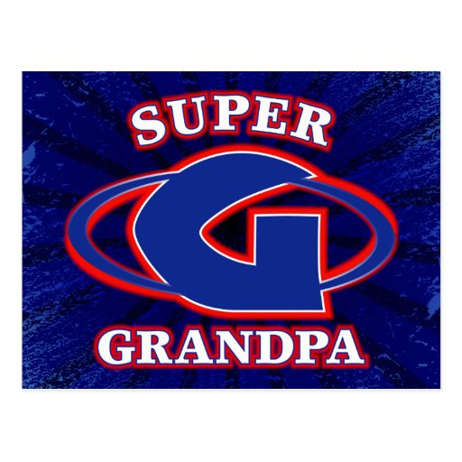 Postal estupenda del abuelo
