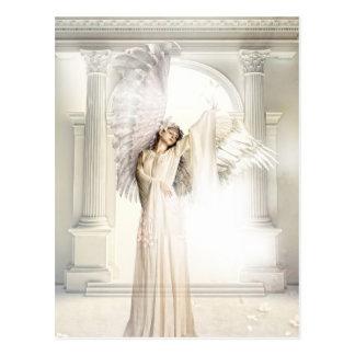 Postal etérea del ángel