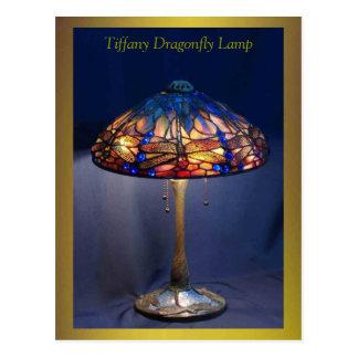Postal excelente del arte de la lámpara de la