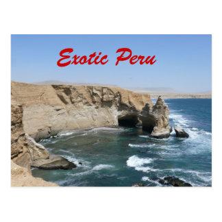 Postal exótica de Perú