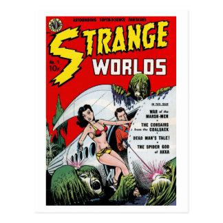 Postal extraña de los mundos #1
