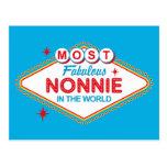 Postal fabulosa de Las Vegas Nonnie
