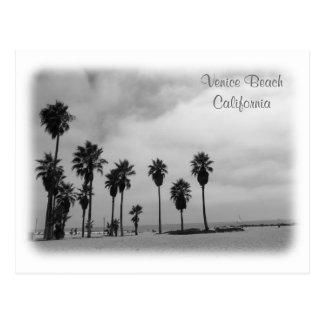 ¡Postal fantástica de la playa de Venecia! Postales