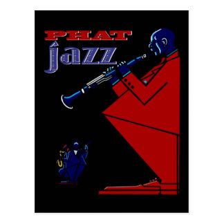 Postal fantástica del jazz