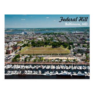 Postal federal del parque de la colina de Baltimor