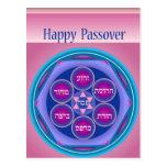 Postal feliz de la placa no.1 de Seder del Passove