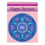 Postal feliz de la placa no.2 de Seder del Passove