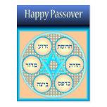 Postal feliz de la placa no.3 de Seder del Passove