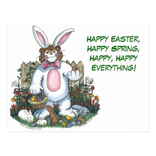 Postal feliz de Pascua