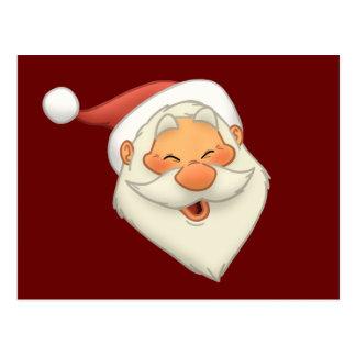 Postal feliz de Santa