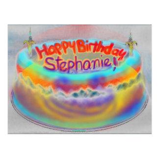 Postal feliz de Stephanie de 2014 cumpleaños