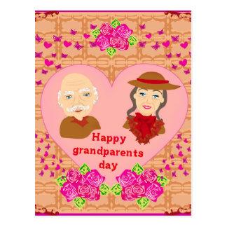 Postal feliz del día de los abuelos