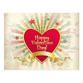 Postal feliz del día de San Valentín