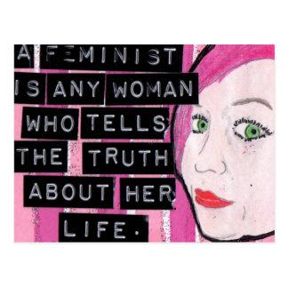 Postal feminista
