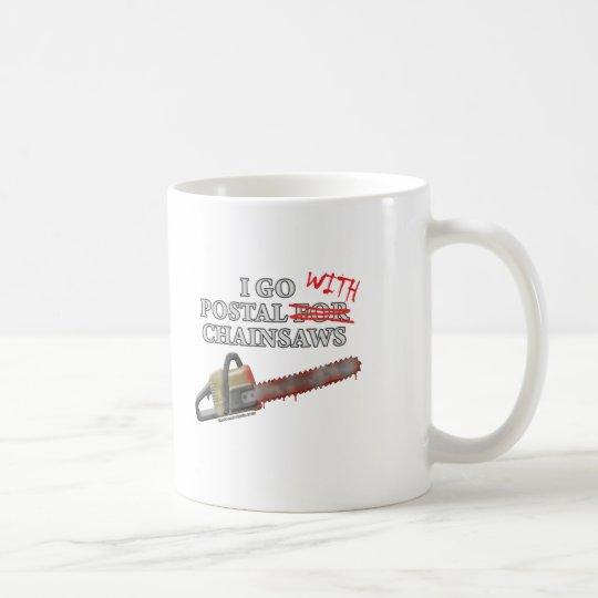 Postal For Chainsaws Coffee Mug