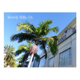 ¡Postal fresca de Beverly Hills!