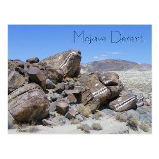 ¡Postal fresca del desierto de Mojave! Postales