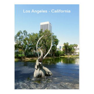 ¡Postal fresca estupenda de Los Ángeles! Tarjetas Postales
