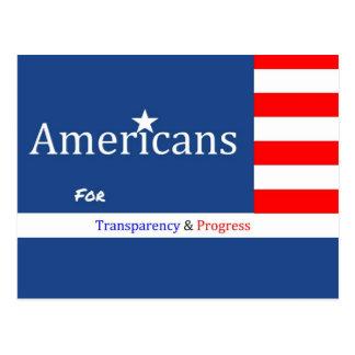 Postal fundraising de AFTAP