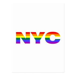 Postal gay de NYC