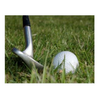 Postal Golfing de la foto