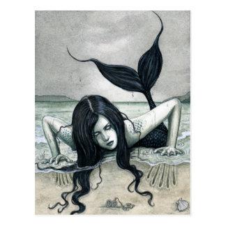 Postal gótica de la sirena