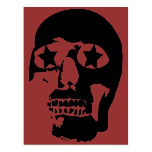 Postal grande del cráneo