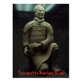POSTAL - guerrero Xián China de la terracota