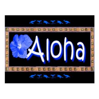 Postal hawaiana de la hawaiana