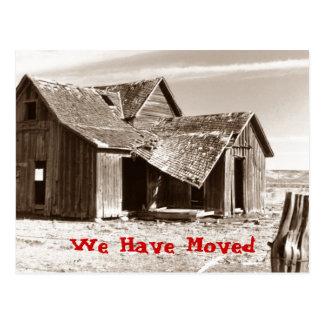 Postal hemos movido la casa desvencijada del hogar