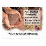 Postal herbaria de AIM Fiberblend