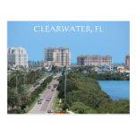 Postal hermosa de Clearwater, la Florida