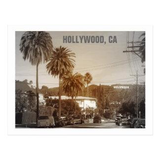 ¡Postal hermosa de Hollywood!