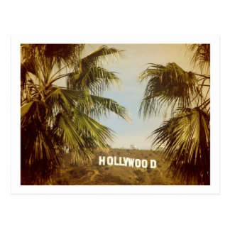 ¡Postal hermosa de Hollywood! Tarjetas Postales