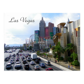 ¡Postal hermosa de la opinión de Las Vegas! Postal