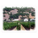 ¡Postal hermosa de Napa Valley!