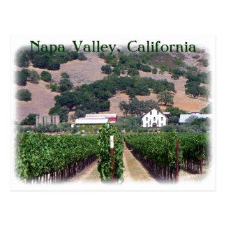 ¡Postal hermosa de Napa Valley! Postal