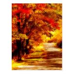 Postal hermosa del día del otoño