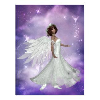 Postal hermosa del diseño 3 del ángel