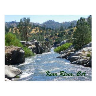 ¡Postal hermosa estupenda del río de Núcleo de con