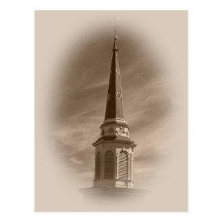 Postal histórica de la iglesia de Cristo