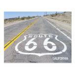 ¡Postal histórica de la ruta 66!
