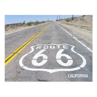 ¡Postal histórica de la ruta 66! Postal