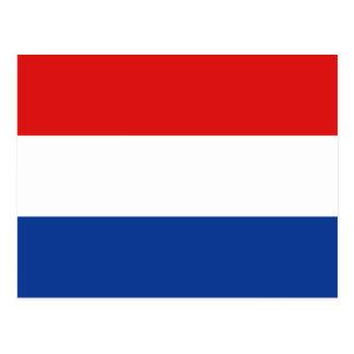 Postal holandesa de la bandera