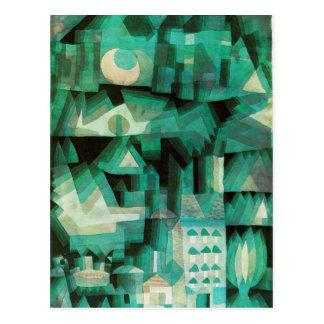 Postal ideal de la ciudad de Paul Klee